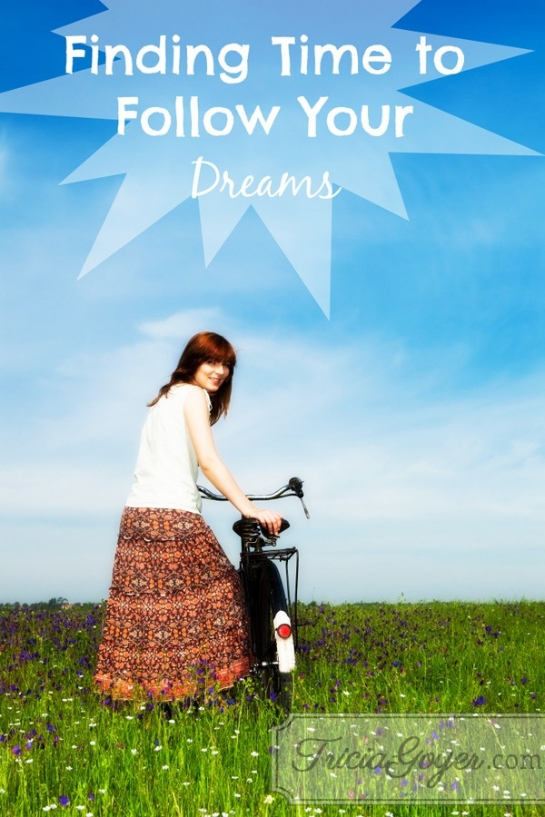Finding Time to Follow Your Dreams | No More Frumpy Mommy 'Moms' Night Out' Challenge Day 9