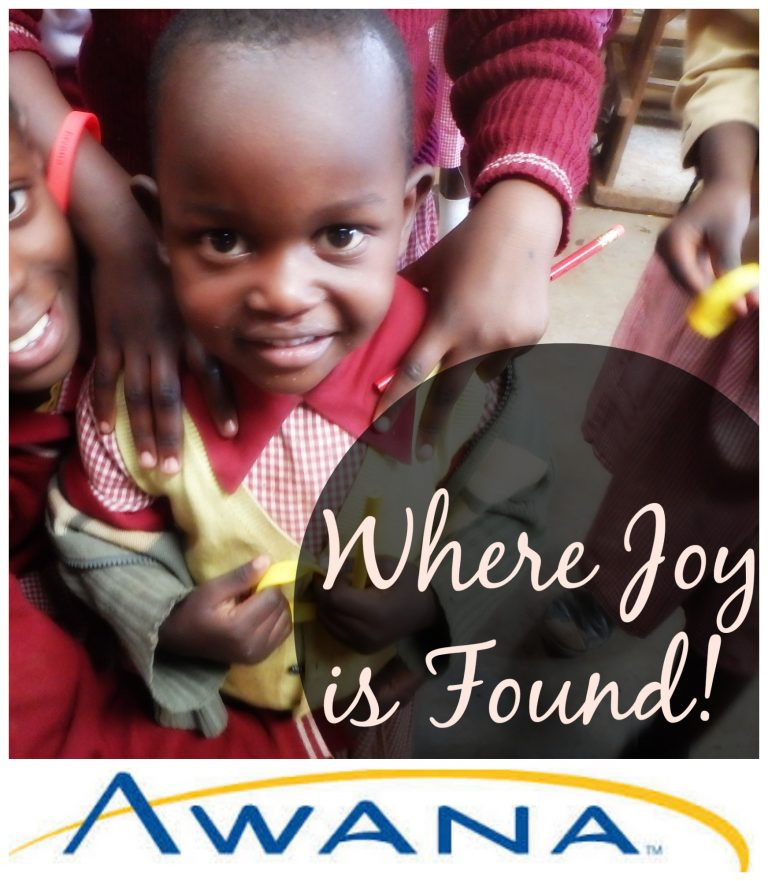 Where Joy Is Found: Awana Making A Difference in the Kibera Slums
