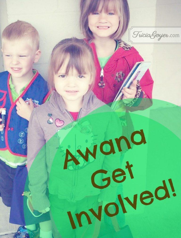 Awana Get Involved!
