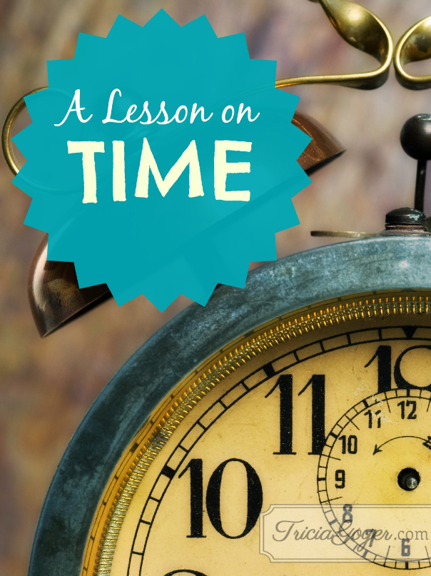 A Lesson on Time