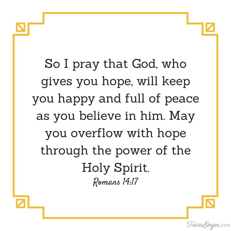 Printable Scriptures - TriciaGoyer.com