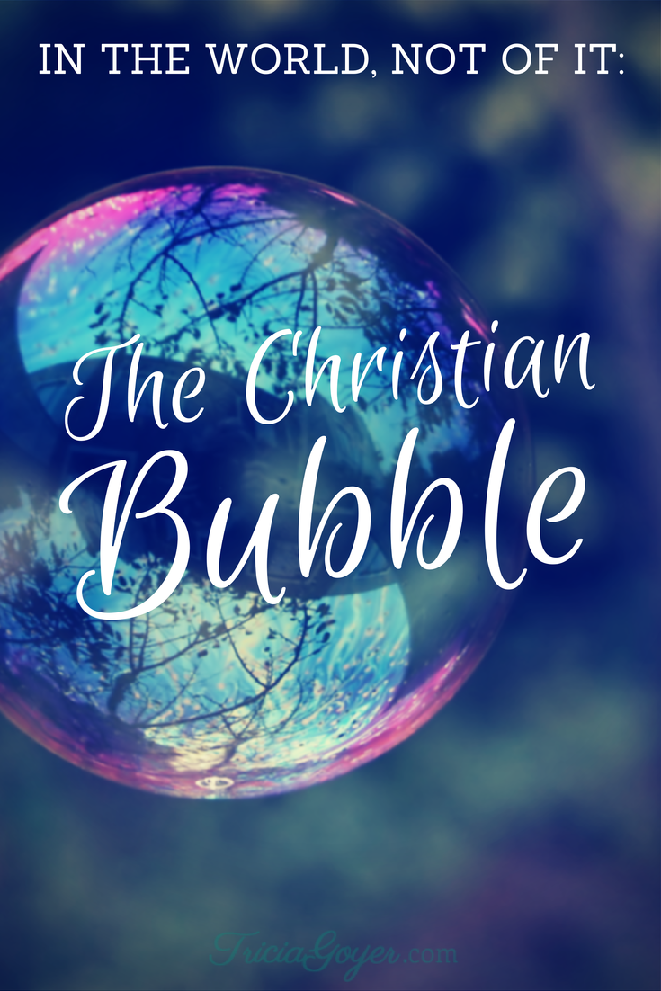 In the World, Not of It: The Christian Bubble