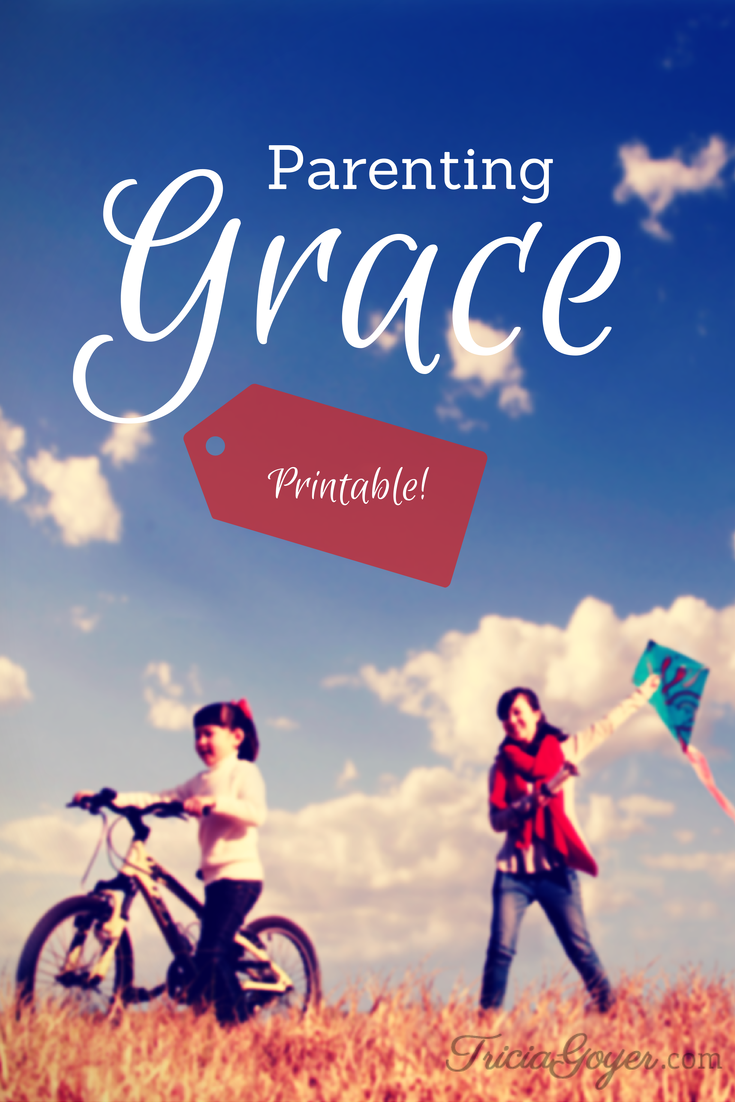 Parenting Grace {Printable!}