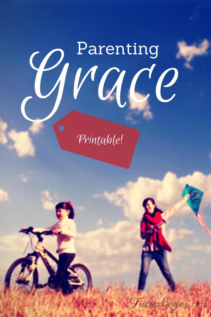 Parenting Grace (Printable!) - TriciaGoyer.com
