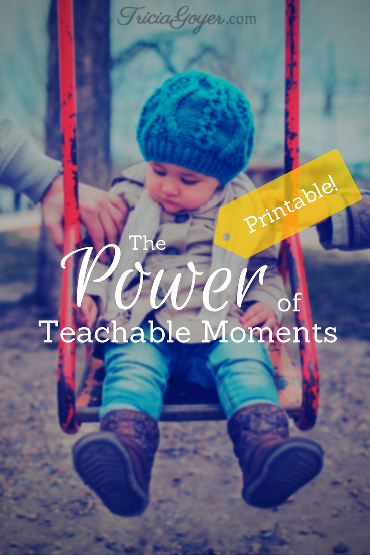 Parenting: The Power of Teachable Moments