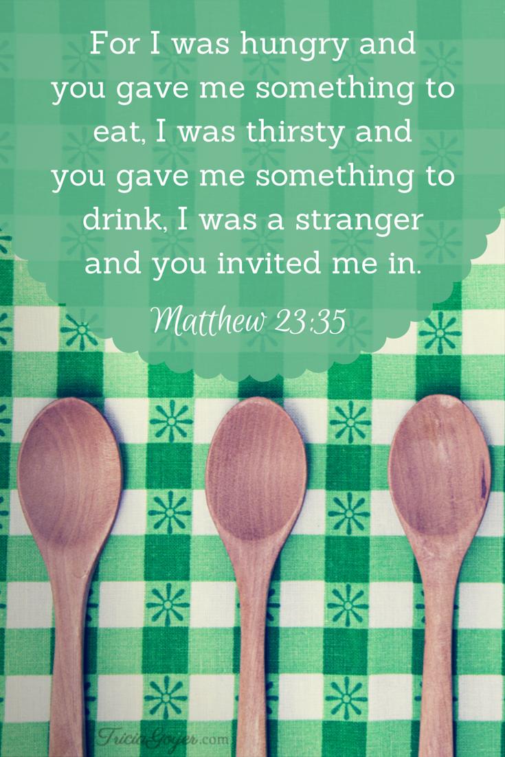Saturday Scripture - Matthew 23:35 - TriciaGoyer.com