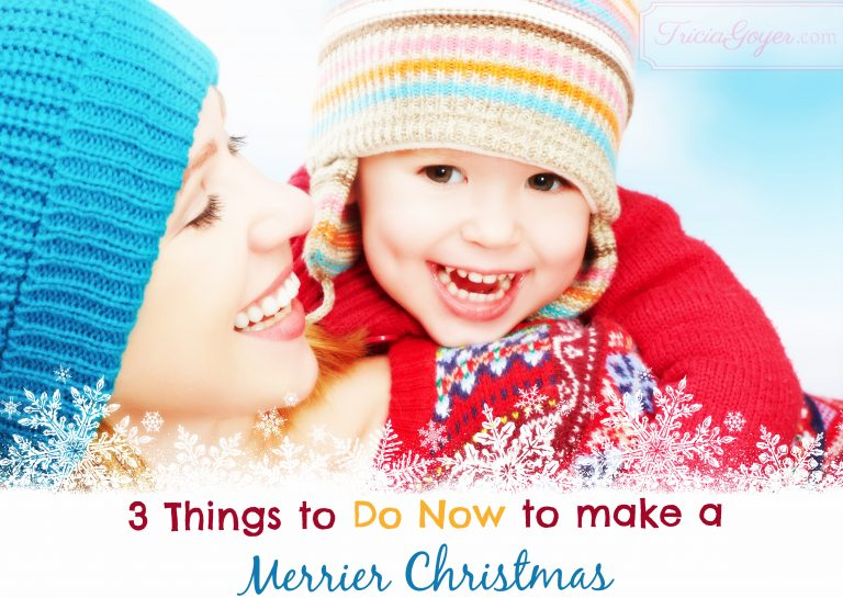 3 Things To Do to Make a Merrier Christmas