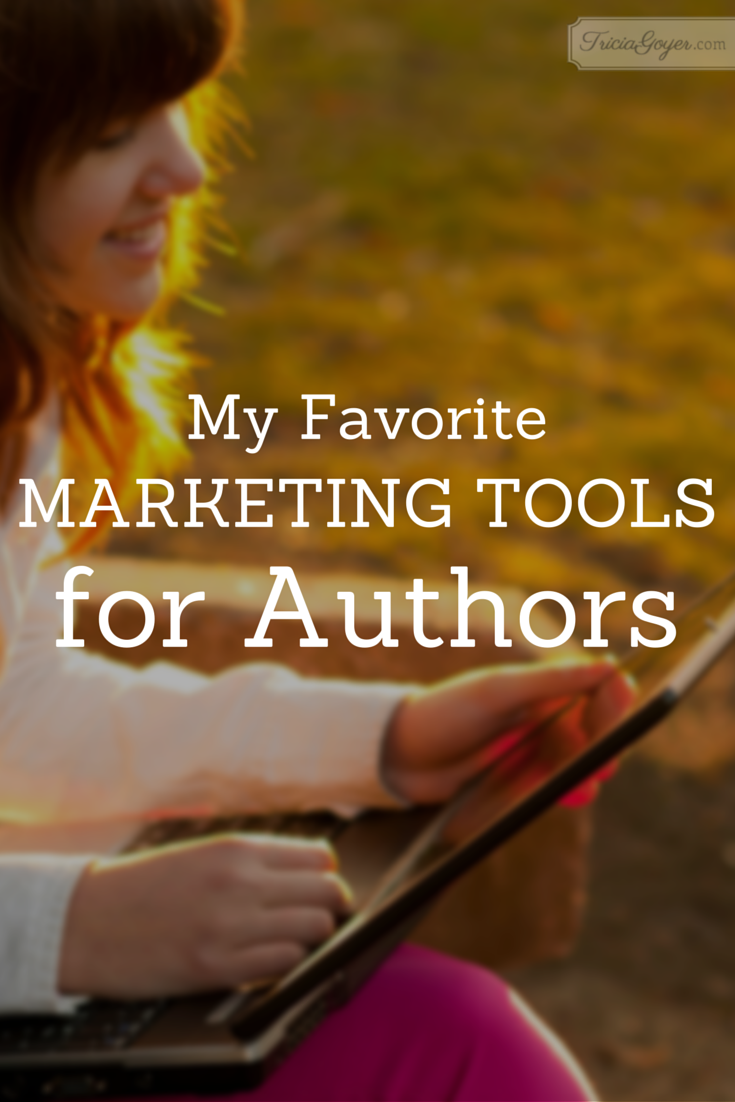 My Favorite Marketing Tools for Authors