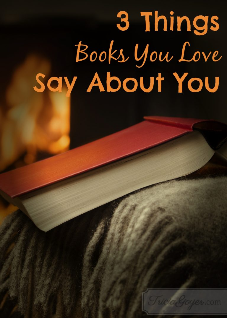 3 Things Books You Love Say About You