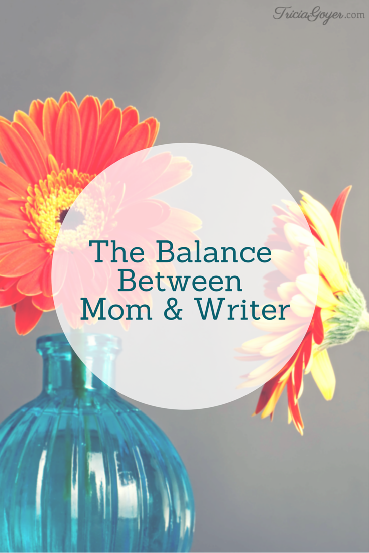 The Balance Between Mom and Writer