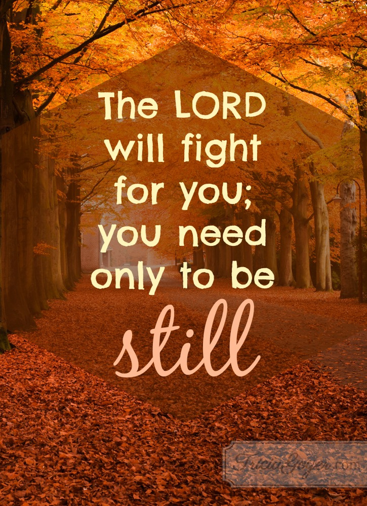 Be Still & Let God