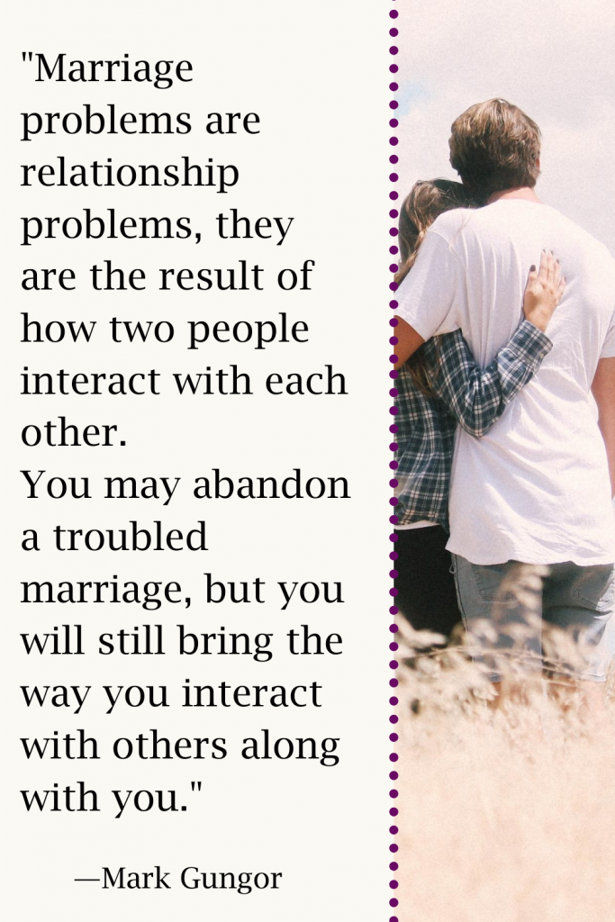 great quote from Tricia Goyer's Blog Resources to Transform Your Marriage