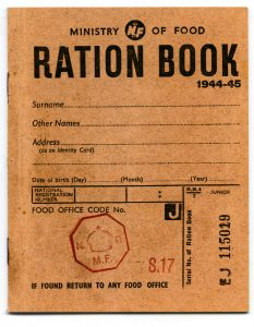 graphic regarding Ration Book Ww2 Printable named A WWII Xmas: Foodstuff Rationing and Recipes inside of Global War II