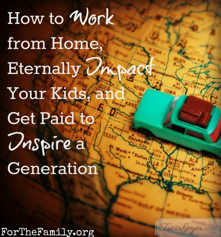 How to Work from Home, Eternally Impact Your Kids, and Get Paid to Inspire a Generation
