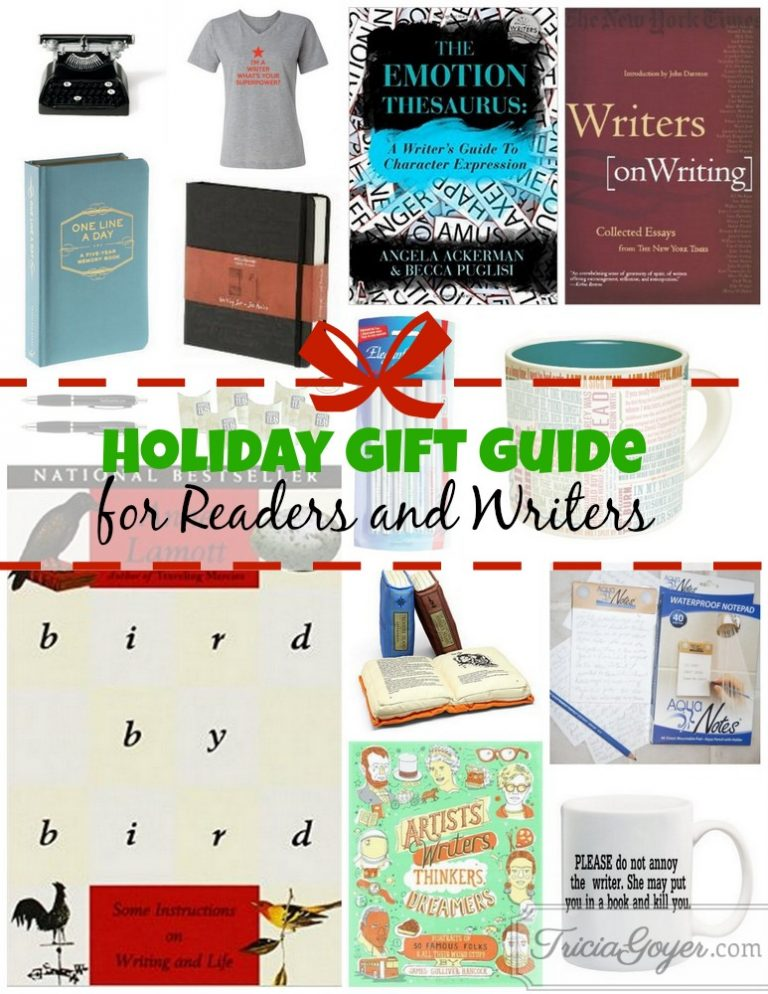 Holiday Gift Guide for Readers and Writers (Plus a Giveaway!)