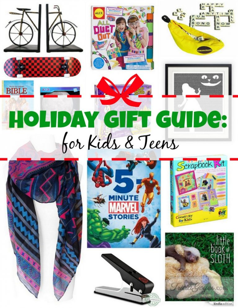 Holiday Gift Guide for Kids and Teens