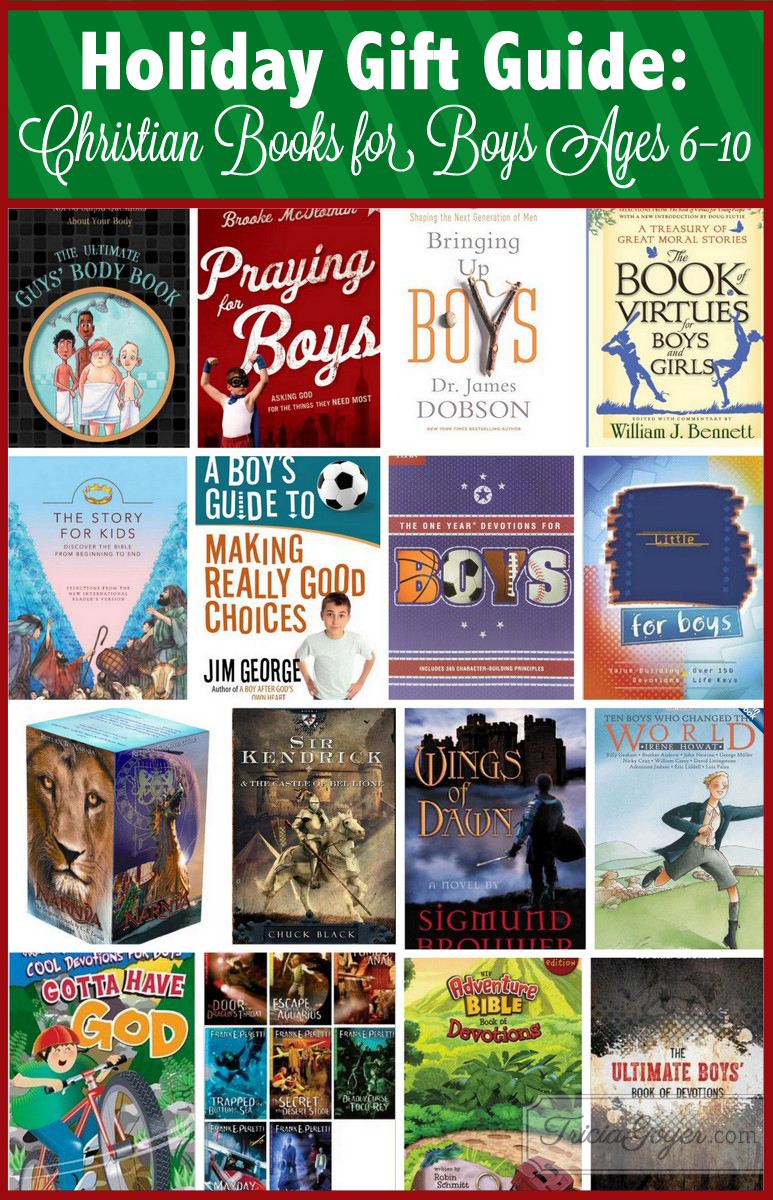 Great Christian Books For Boys Ages 6 10