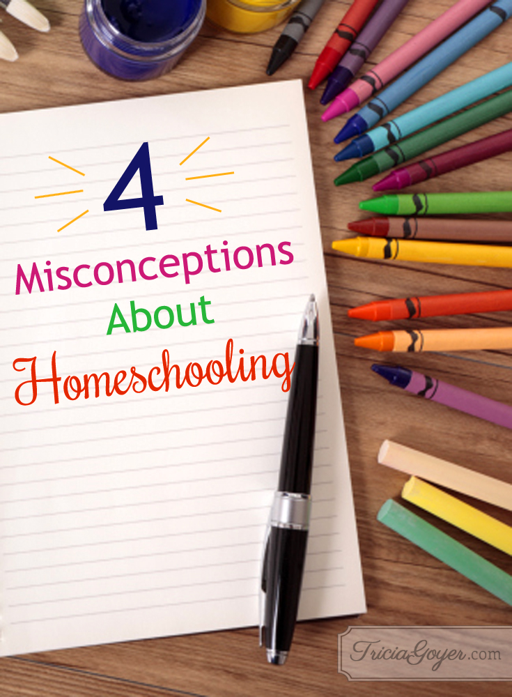 Misconceptions About Homeschooling