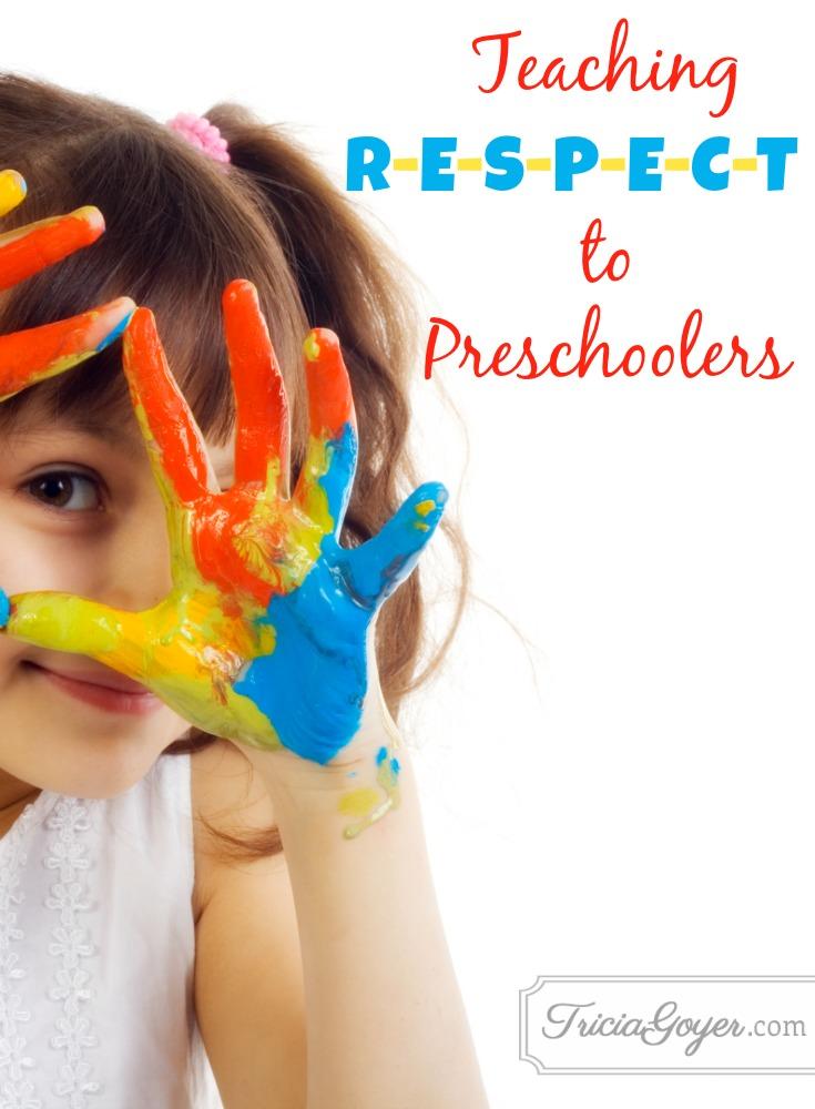 Teaching R-E-S-P-E-C-T to Preschoolers