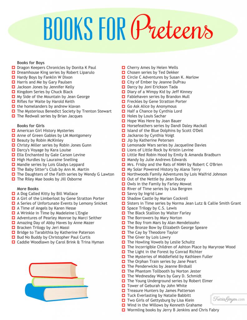 books for preteens copy
