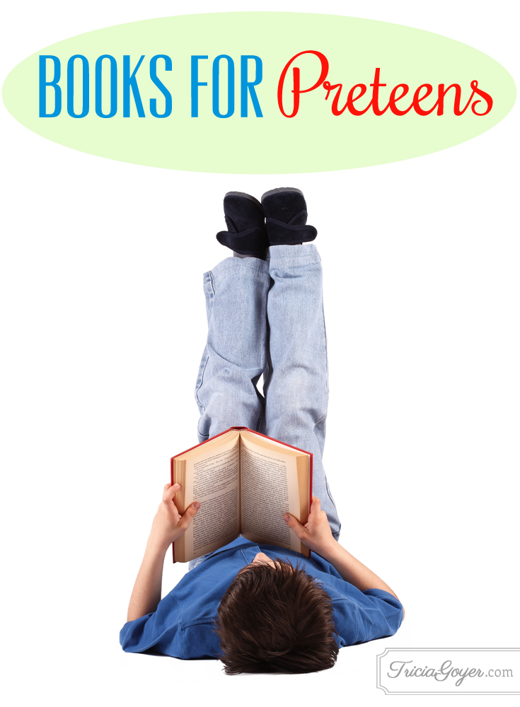 Books for Preteens {+ Free Printable}