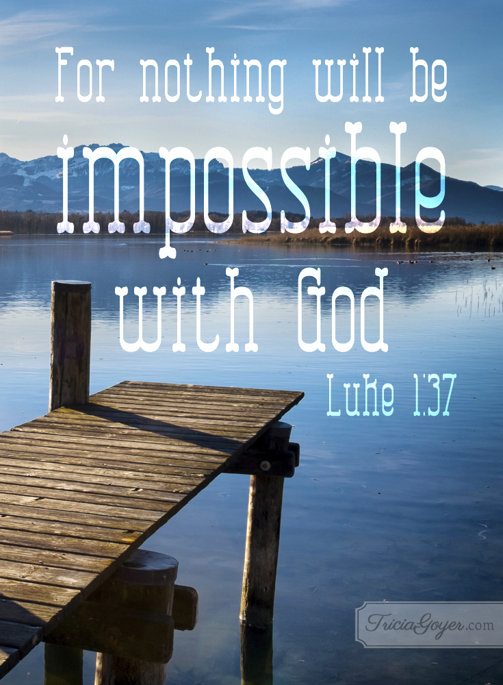 With God | Luke 1:37