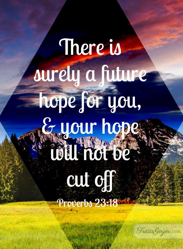 Future Hope | Proverbs 23:18
