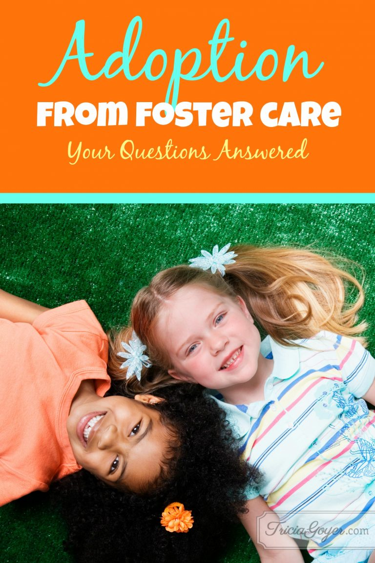 Adoption from Foster Care: Your Questions Answered, Part 3