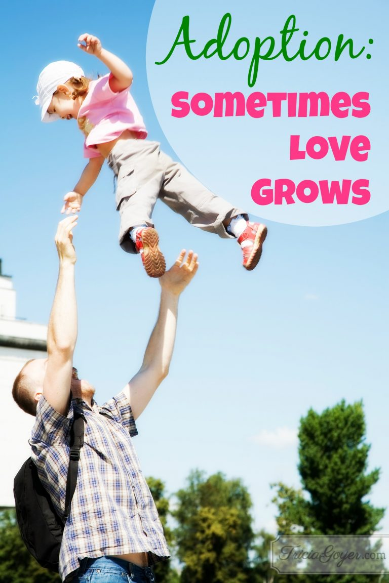 Adoption: Sometimes Love Grows