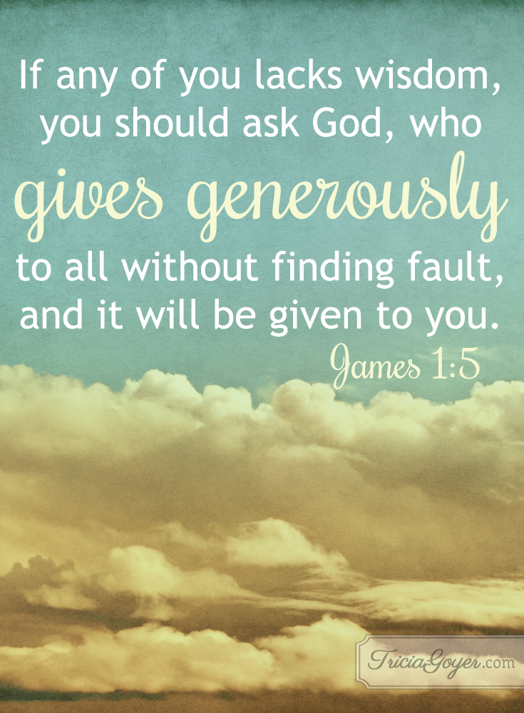 Generous Giver | James 1:5