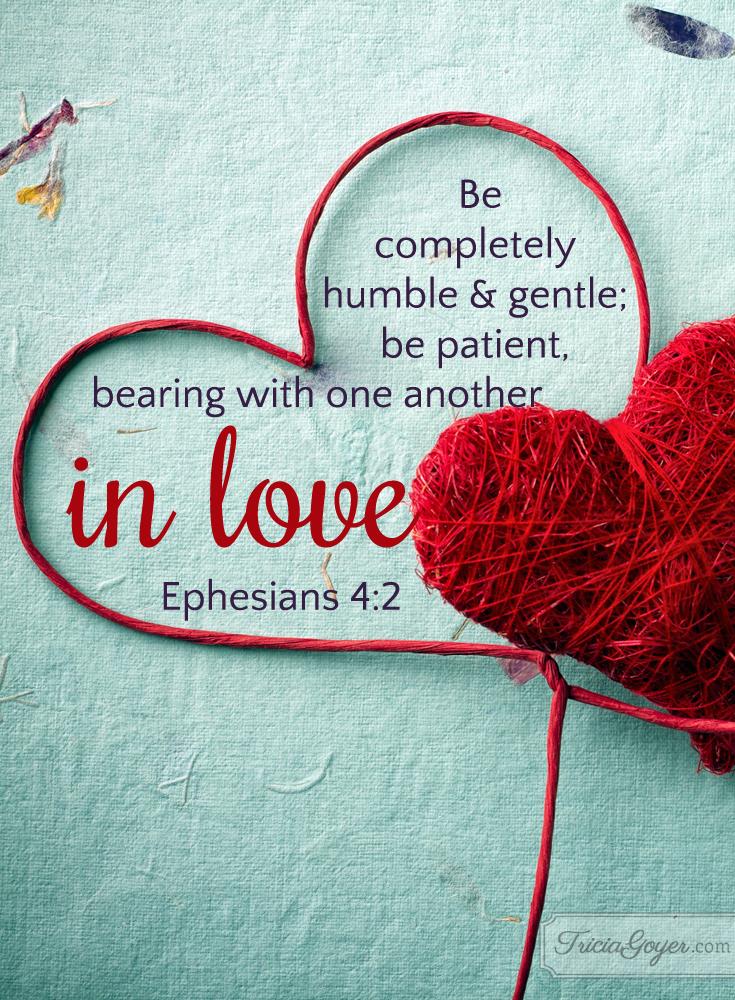 In Love | Ephesians 4:2