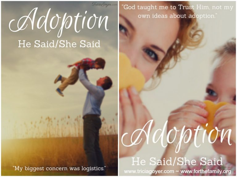 Adoption | He Said, She Said