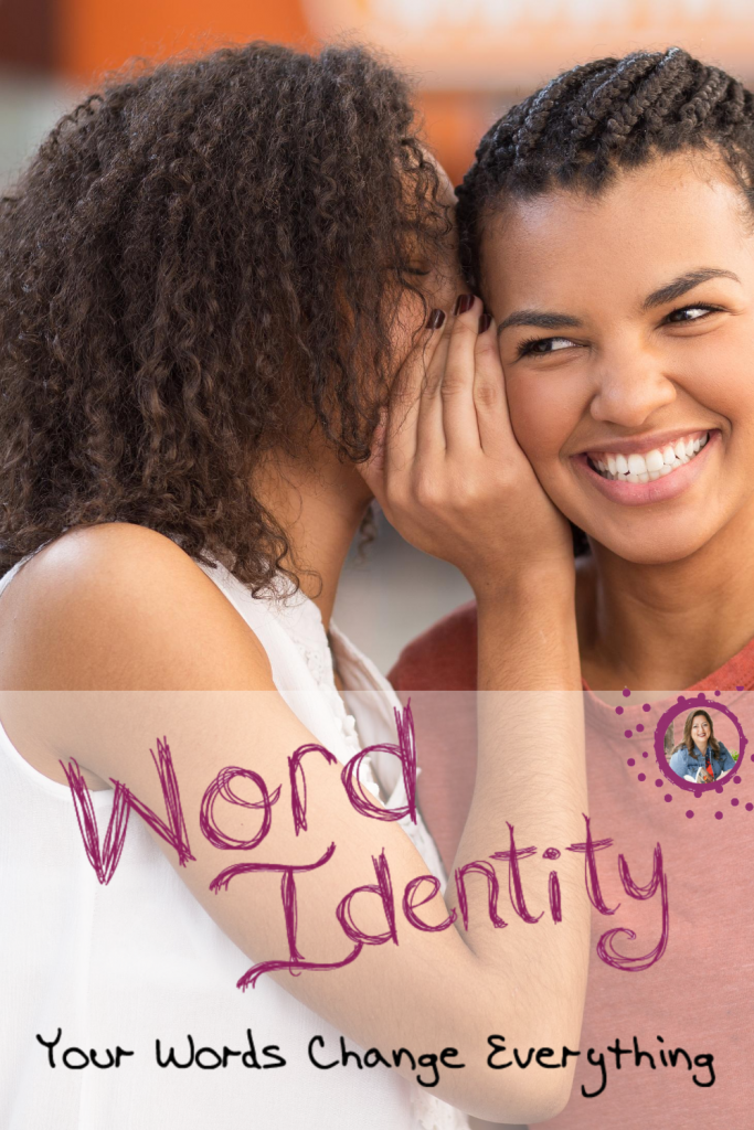 Tricia Goyer shares about word identity and why your words matter!
