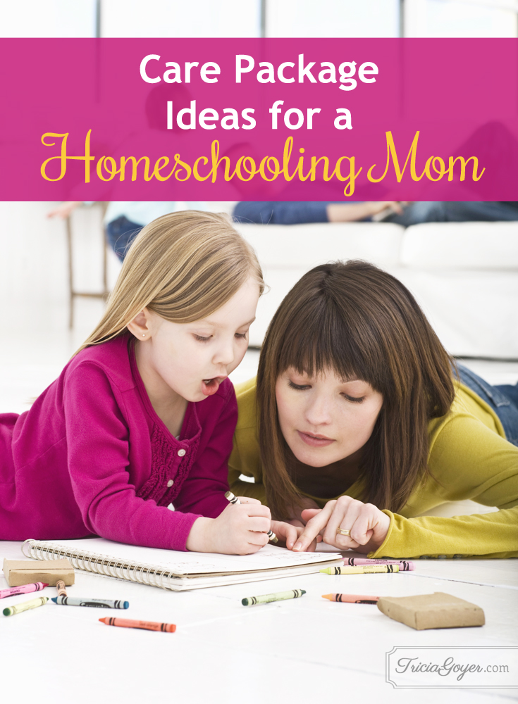 Care Package Ideas for a Homeschooling Mom