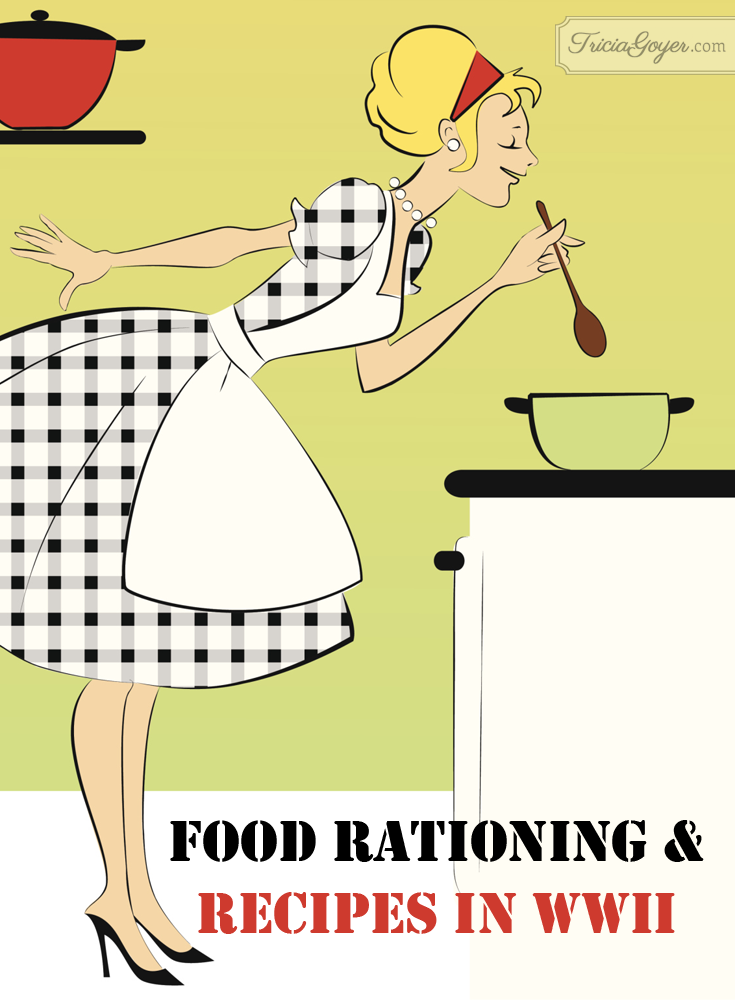 Food Rationing & Recipes in World War II