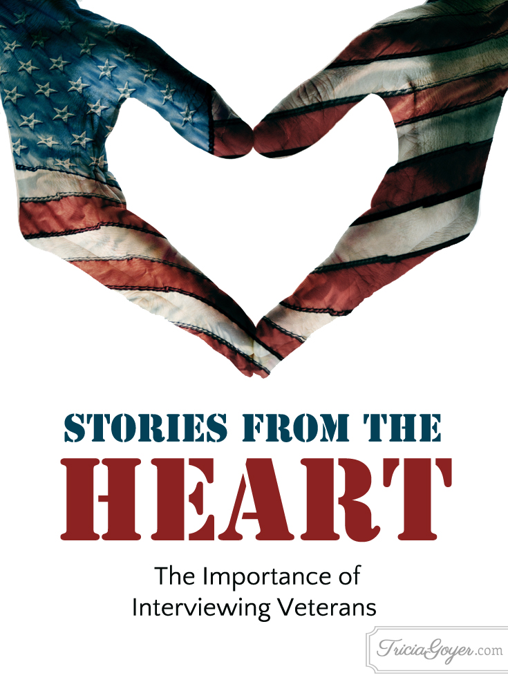 Stories from the Heart | The Importance of Interviewing Veterans