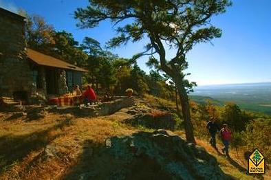 Mt Nebo: http://www.arkansasstateparks.com/mountnebo/