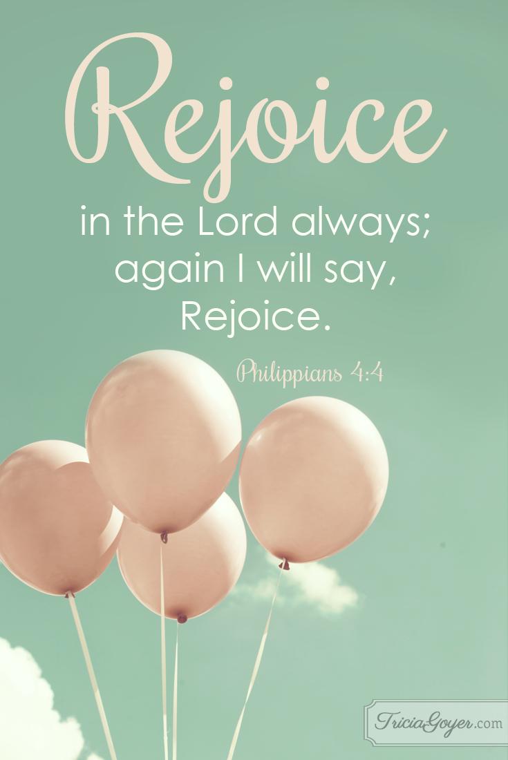 Rejoice | Philippians 4:4