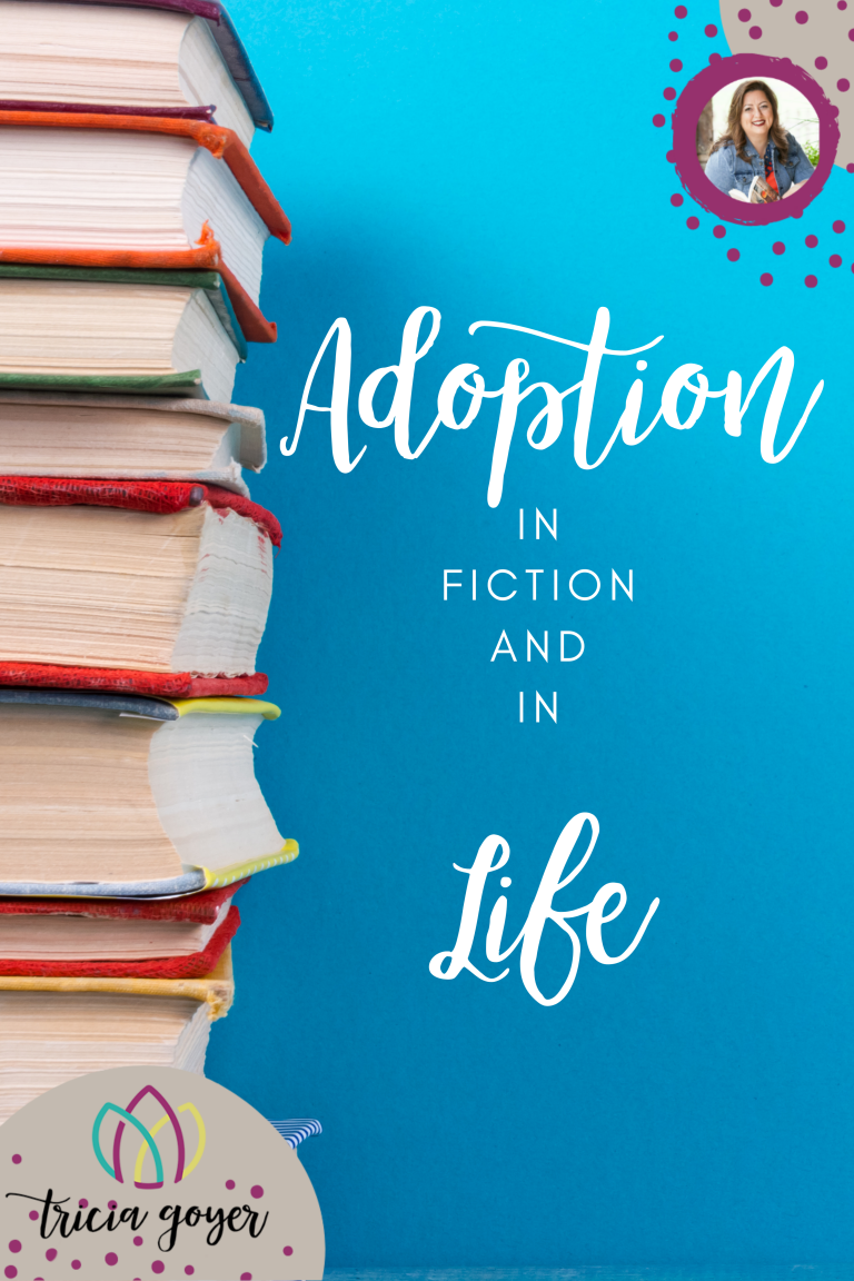 Adoption in fiction and in life