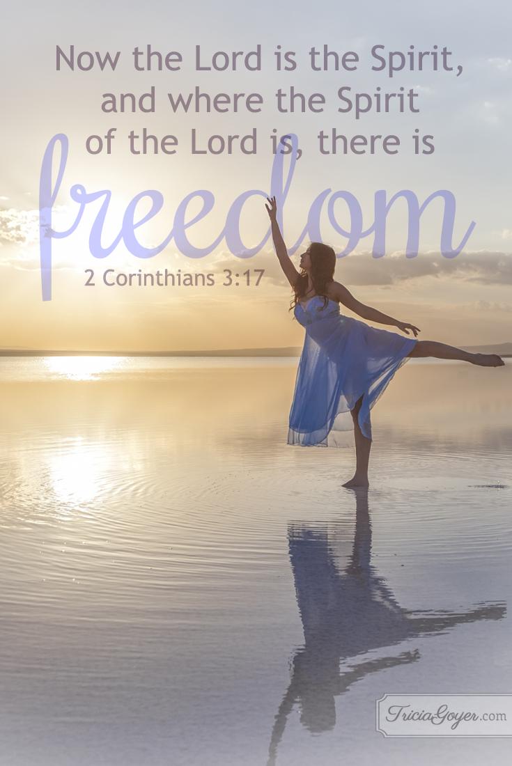 Freedom | 2 Corinthians 3:17