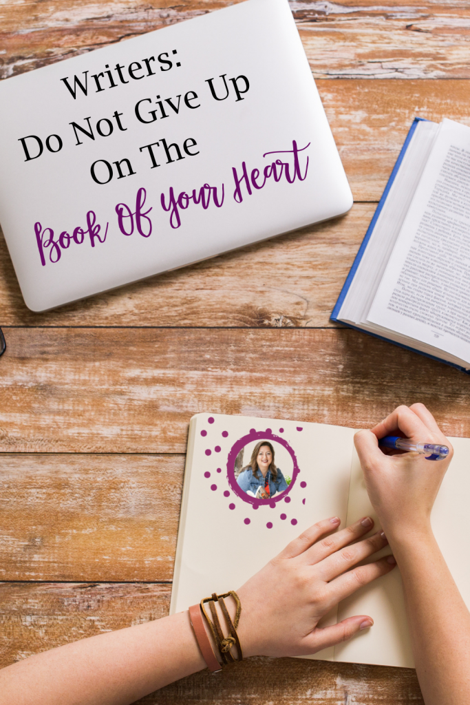 Do you have a book that you've been wanting to write? Do you think it's a great idea, but it's hard convincing a publisher the same? Do you feel discouraged and want to quit? Today I want to talk to writers to encourage you, writers do not give up on the book of your heart!