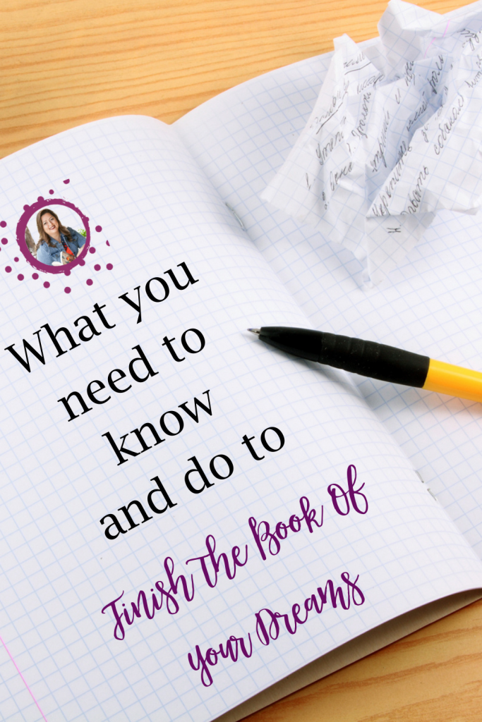 Tricia Goyer shares wisdom on how not to give up and how to finish the book of your dreams