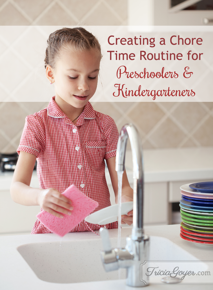 Tricia Goyer shares how to create a chore routine for your kids!