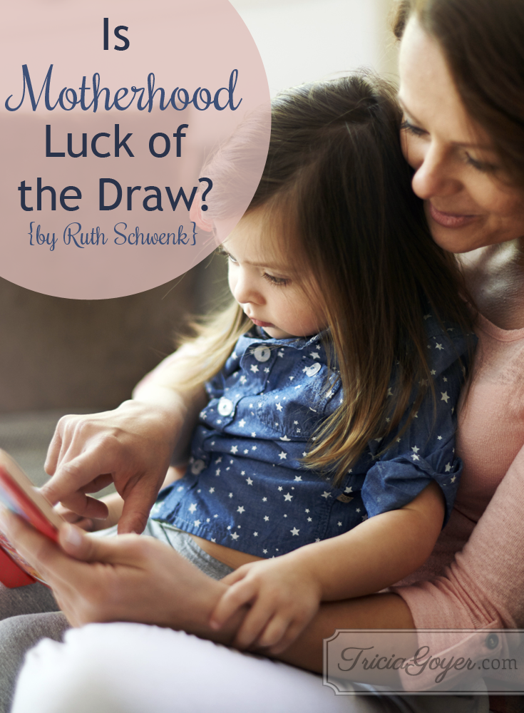 Is motherhood luck of the draw? Find out with Ruth Schwenk, author of 'Hoodwinked'