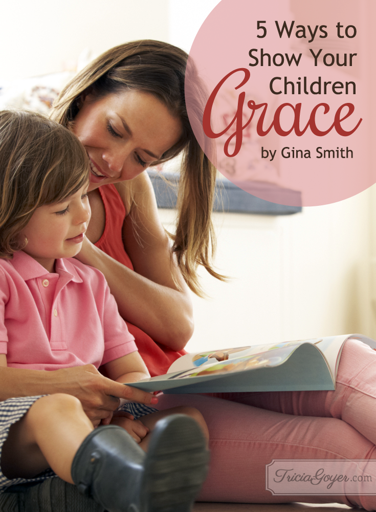 Learn how to parent with grace. Check of Gina Smith's 'Grace Gifts""