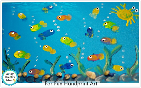 fish fingerprint art