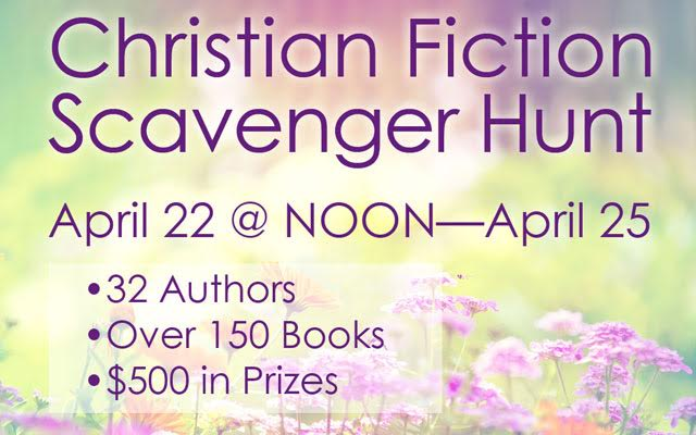 Christian Fiction Scavenger Hunt Stop #28