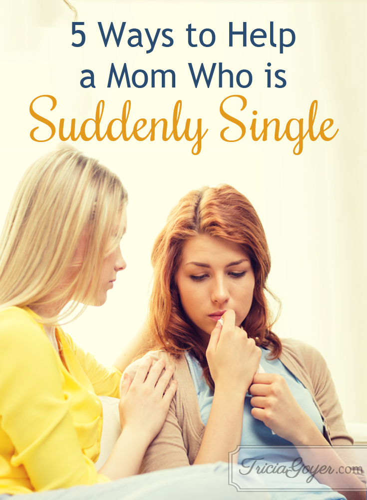 5 Ways to Help a Mom Who is Suddenly Single
