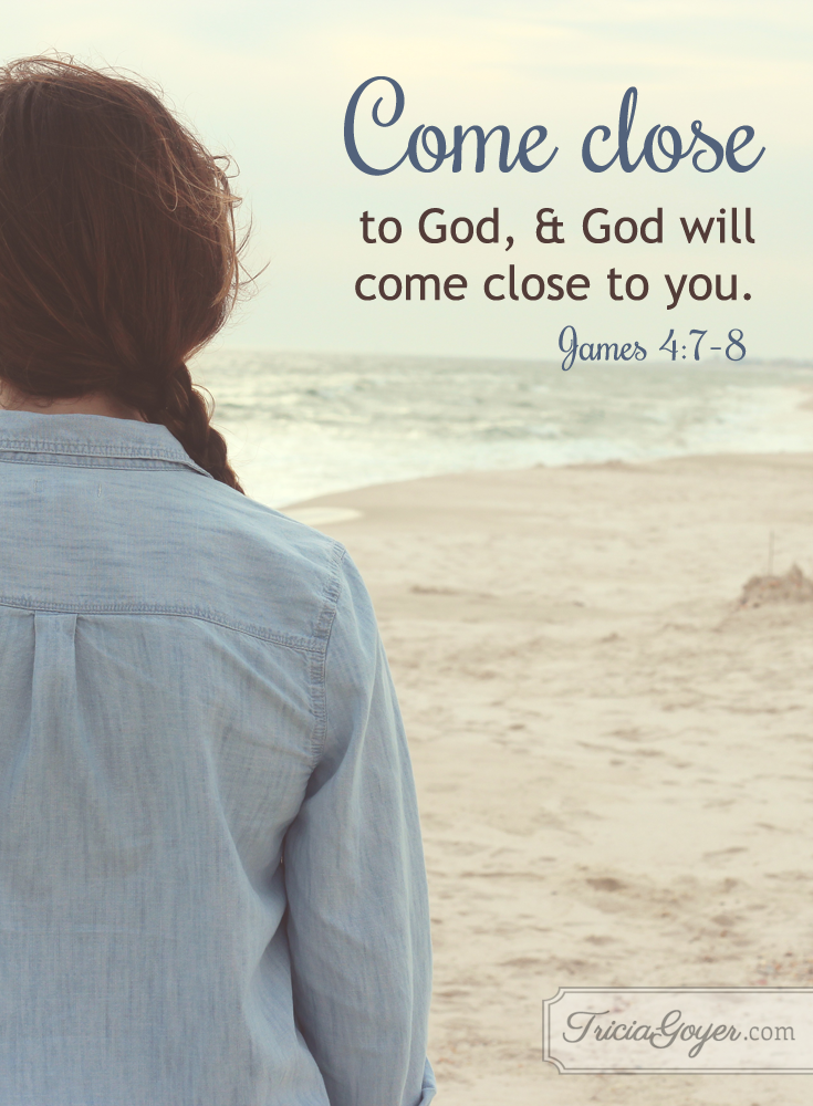 Come Close | James 4:7-8