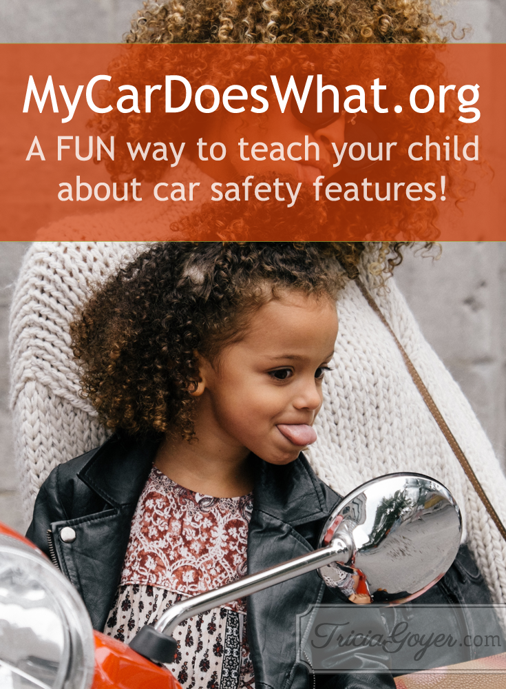 MyCarDoesWhat.org | A FUN way to teach your child about car safety features!
